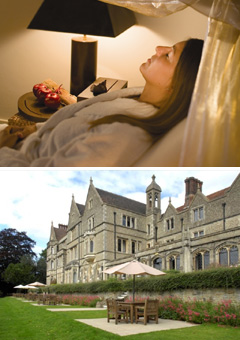 Tailor made spa at Nutfield Priory